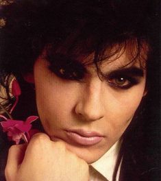 Nick Rhodes knows how to rock the smokey eye