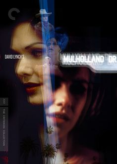 Some of my unused covers for Criterion Collection's Mulholland Dr.