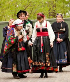 Hello all, today I am returning to Telemark, one of the richest provinces in terms of folk art and costume in Norway. Telemark has. Folk Costume, Costumes, Beautiful Norway, Art Populaire, Thinking Day, Gorgeous Fabrics, Festival Wear, Historical Clothing, Scandinavian Style