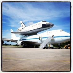 NASA Space Shuttle Endeavor Fly-Out