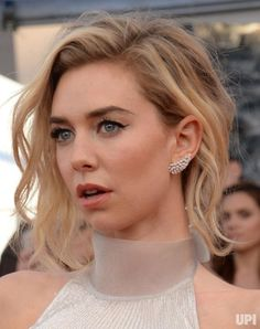 Actress Vanessa Kirby arrives for the the 23rd annual SAG Awards held at the Shrine Auditorium in Los Angeles on January 29, 2017. The…