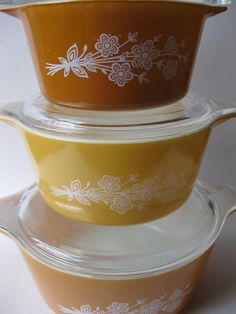 Vintage Pyrex-I think my Mom has some of these!