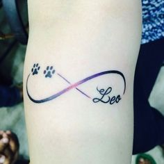 Dog paw tattoo, Dog tattoo