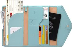Check out this awesome Travel Accessories - Zoppen Multi-purpose Rfid Blocking Travel Passport Wallet Tri-fold Document Organizer Holder, 23 Paradise Blu New York Tips, Bali, Carry On Essentials, Travel Necessities, Art Tumblr, Thing 1, Document Holder, Passport Wallet, Passport Cover