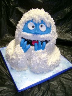 Abominable Snow Monster Cake - Bumbles bounce!
