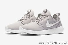 bb9b0a9ffcb6 Nike Roshe Run Two Grey White Nike Shoes Cheap