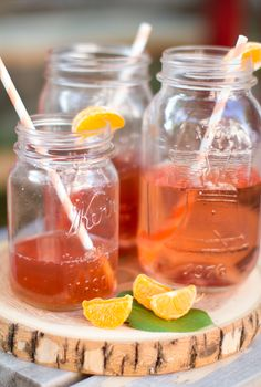 Love the idea of using canning jars as cups