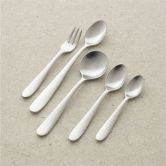 Set of 4 Fusion Dinner Spoons