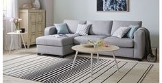 Lydia Left Hand Facing Chaise End 3 Seater Sofa | DFS