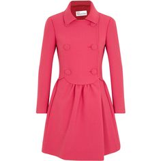 RED Valentino Cotton Blend Twill Jacket ($1,000) ❤ liked on Polyvore