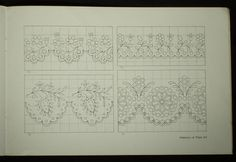 Czech/Slovak Folk Embroidery Patterns ethnic peasant charted design