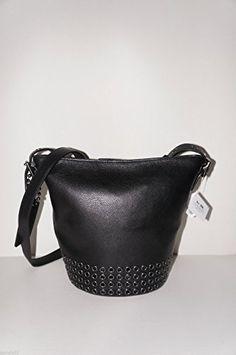Coach Bleecker Grommets Mini Black Duffle Black Crossbody Bag 32386