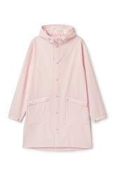 <p>The Sune Raincoat is a unisex coat with two slanted front pockets and a hood with an adjustable drawstring inside. It has a long and wide fit with a slightly longer and rounded back hem. </p><p>- In a size Medium this coat measures 126 cm around chest and 101cm in length. The sleeve length is 65 cm.  </p>