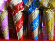 Sombrinhas de chocolate  Regina