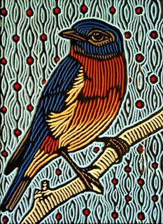bluebird by Lisa Brawn, via Flickr