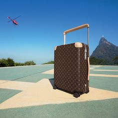Louis Vuitton's new luggage by Marc Newson, photographed by Patrick Demarchelier, emobides the Spirit of Travel in the modern era.