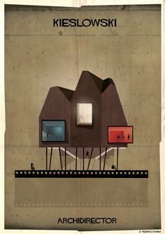 Gallery of ARCHIDIRECTOR: A Fantastical City Inspired by Famous Directors by Federico Babina - 22