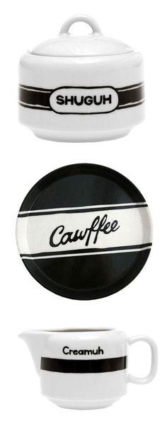 New York Accent Coffee Set //
