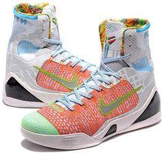 Nike Kobe 9 Mens Basketball Shoes Orange white4