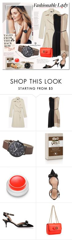 """Fashionable Lady"" by mada-malureanu ❤ liked on Polyvore featuring Theory, Blumarine, rms beauty, Urban Outfitters, RED Valentino, Christian Louboutin and christianpaul"