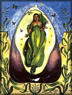 """""""Selu's themes are the harvest, the weather and growth. Her symbol is corn. This Southeastern Native American corn Goddess planted Her very heart so people wouldn't go hungry. Corn sprouted from it. To this day, Her spirit teaches us how to refertilize the earth to bring us the sustenance we need."""