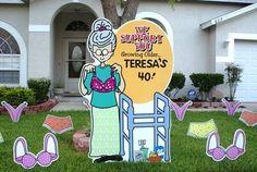 ... yards 40th birthday birthday lawns 50th birthday birthday ideas