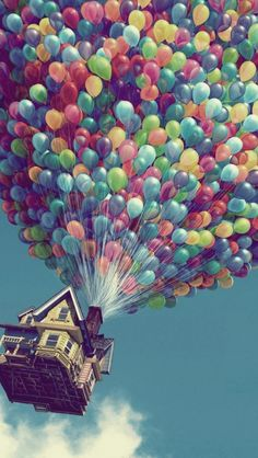 """Day 18-Favorite Pixar Film: Up. This movie warms my heart! And it's score """"Married Life"""" is everything!"""