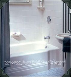 We Love The Subway Tile Look Call Bath Fitter Today - Bath fitters for the bathroom