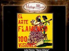▶ Lola Flores - Nana Gitana (VintageMusic.es) -