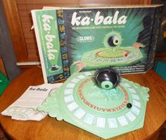 1967 TRANSGRAM COMPANY KA-BALA FORTUNE TELLING OUIJA STYLE BOARD GAME COMPLETE #TRANSGRAMCOMPANY