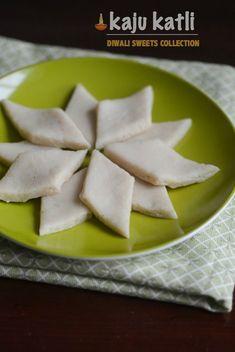 Kaju Katli, Kaju Barfi Recipe, Step by Step Pictures with Tips for Beginners