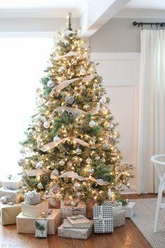 Awesome 25 Beautiful Christmas Tree Decoration Ideas https://insidecorate.com/25-beautiful-christmas-tree-decoration-ideas/