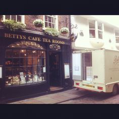 Betty's Cafe Tea Rooms. York, England. I love this place. Perfect for High tea :)