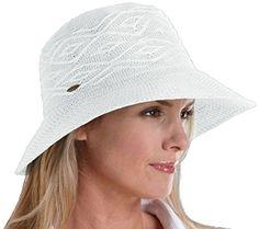 Coolibar UPF 50+ Women s Packable Beach Bucket Hat - Sun Protection (One  Size - ba882da00485