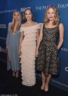 Elegant: Suki Waterhouse and her sister Immy were natural guests at Sean Penn's annual Help Haiti Home fundraiser, which was held at The Montage Hotel, in Beverly Hills on Saturday