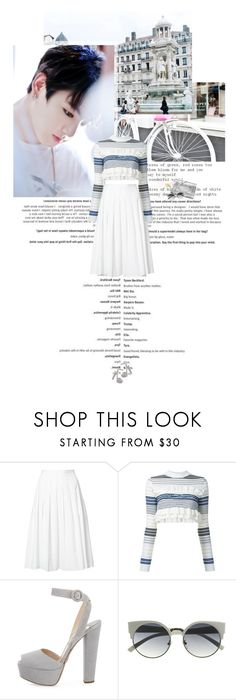 """""""Untitled 3841..."""" by thplacebo ❤ liked on Polyvore featuring Vince, STELLA McCARTNEY and Prada"""