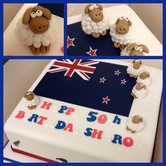 New Zealand Kiwi Birthday Cake NZ themed birthday party ...