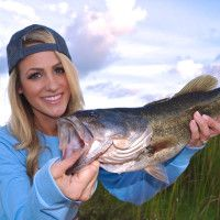 Whether she's landing a lunker largemouth or holding a grouper on the cover of Gaff Magazine, Brooke Thomas is one lady angler to watch.
