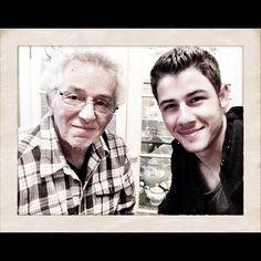 My grandpa is a good man. #family - @nickjonas