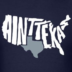 Since the rest of the country hates Texas (according to an online survey)...this is how we feel about the rest of the country.  lol