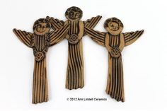 Ann Lindell Ceramics...so beautiful..i love your Angels