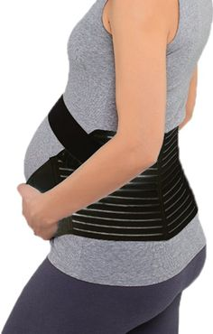 OMG Maternity Support Belt Pregnancy Back Support Belly Band Girdle for Women