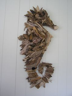 Driftwood seahorse