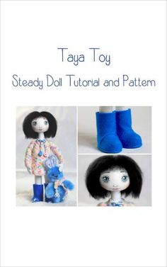 Steady Doll ... by Taya Toy | Sewing Pattern - Looking for your next project? You're going to love Steady Doll Tutorial and Pattern ebook by designer Taya Toy. - via @Craftsy