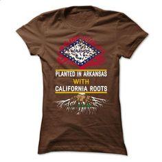 CALIFORNIA-ARKANSAS - make your own shirt #Tshirt #clothing