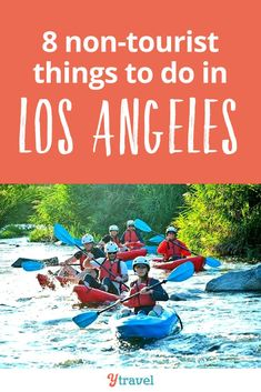 "Los Angeles Travel.  We all know what the ""touristy"" attractions are in LA, California. Do those attractions, then here's 8 non-touristy things to do in Los Angeles you probably haven't heard of. This is the best local guide, including unique outdoor activities, out of the way attractions and more.  You don't want to miss this list of things to do in Los Angeles! #LosAngeles #California #LA #traveltips #travel"