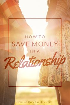 How to Save Money in a Relationship