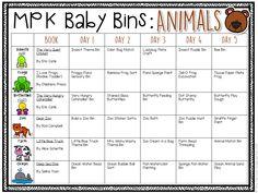 Baby Bins: Ocean - Mrs. Plemons' Kindergarten
