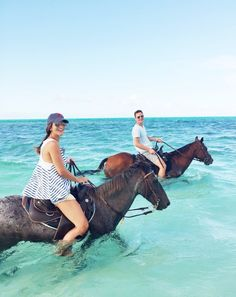 Horseback riding in the surf is a very romantic, unique and awesome adventure that will bring any couple closer together. We did this in Ocho Rios, Jamaica and it was unbelievable. We are still showing our friends the pictures and telling the story.