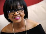 FILE - In this Feb. 19, 2014 file photo, Cheryl Boone Isaacs, president of the Academy of Motion Picture Arts and Sciences, poses for a portrait in Los Angeles. The film academy has been under fire for the lack of diversity among this year¿s Oscar nominees: All 20 acting contenders are white, and no women are represented in the directing, writing or cinematography categories. After the Oscar nominations announcement on Thursday, Jan. 15, 2015, the hashtag #OscarsSoWhite started trending on…